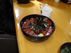 吉田鮮魚店、マグロ丼