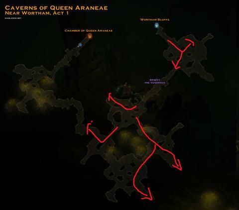 Cavern_of_queen_araneae_map