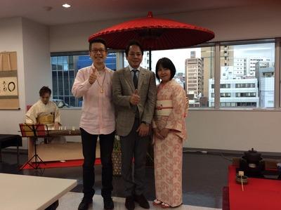 ①フォーデイズ㈱ 福岡サロン抹茶会