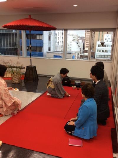 フォーデイズ㈱ 福岡サロン 抹茶会⑩