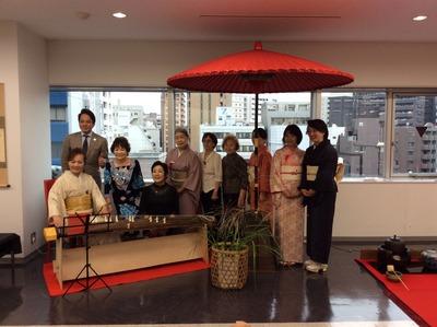 フォーデイズ㈱ 福岡サロン 抹茶会21