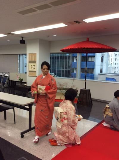 フォーデイズ㈱ 福岡サロン 抹茶会⑪