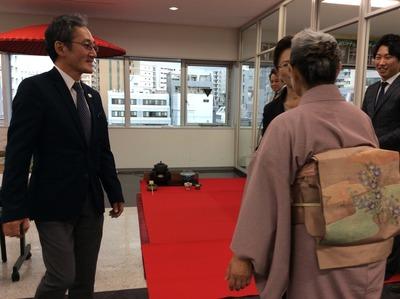 ④フォーデイズ㈱ 福岡サロン 抹茶会