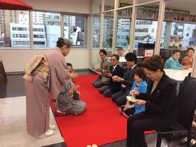 フォーデイズ㈱ 福岡サロン 抹茶会⑫