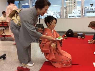 フォーデイズ㈱ 福岡サロン 抹茶会⑳