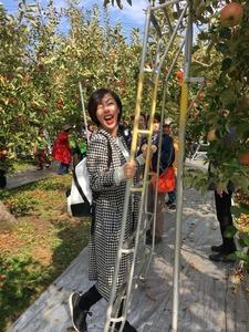 フォーデイズ東京サロン10月りんご狩りバスツアー⑪