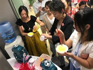 フォーデイズ東京サロン8月かき氷⑥