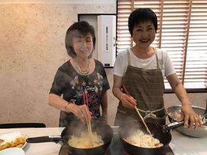 フォーデイズ東京サロン7月25日キッチンスタジオ③