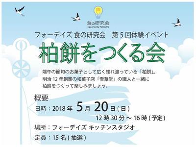 フォーデイズ東京サロン5月食の研究会概要