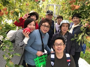 フォーデイズ東京サロン10月りんご狩りバスツアー②