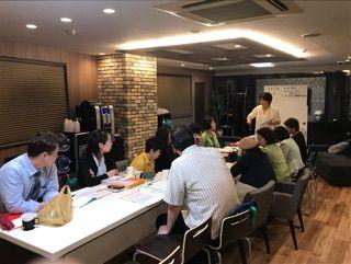 フォーデイズ東京サロン5月14日キッチンスタジオ
