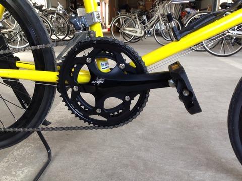 自転車紀行 : HELION Rのクランク ...