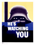 0000-3662-4_b~He-s-Watching-You-Posters