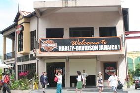 ジャマイカのハーレーショップ