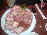 肉、すごっ!
