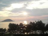 志賀島のトワイライト♪