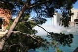昼のベラジォ噴水ショー♪