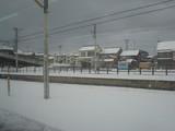 雪の駅(^^☆
