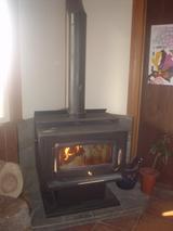 こんな暖炉が♪