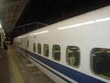 新幹線で移動♪