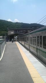 のどかな『黒江駅』だね♪