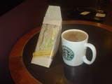 スタバでコーヒー♪