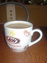 A&Wでコーヒーを♪