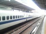 今日は新幹線で(^^☆