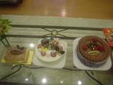 クリスマスケーキも(^^☆
