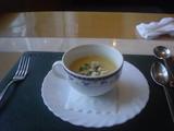 スープはコーンで(^^☆