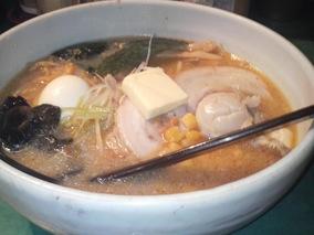 札幌味噌ラーメン♪