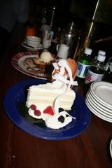 デザート、でかっ!