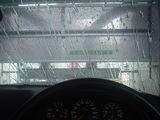 洗車のドライブスルー