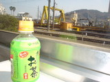 ローカル線の普通電車は、お茶が似合う♪