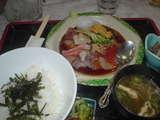 特上海鮮丼は1,260円(^^☆