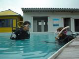 プールで♪