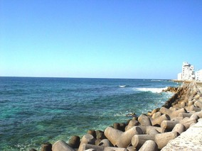 沖縄の砂辺ビーチ(^^☆