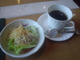 サラダとコーヒーと☆