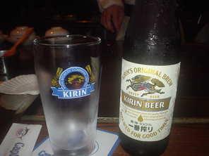 ビールはキリン(^^@