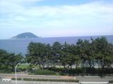 朝の志賀島