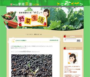 """家庭菜園初心者""""のこ""""の野菜生活"""
