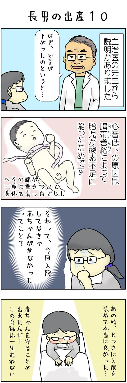 長男の出産10