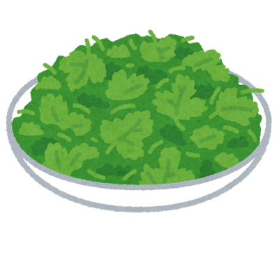 vegetable_pakuchi_coriander_dish