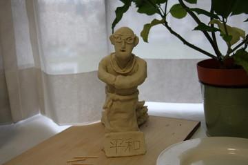ダライ・ラマ像