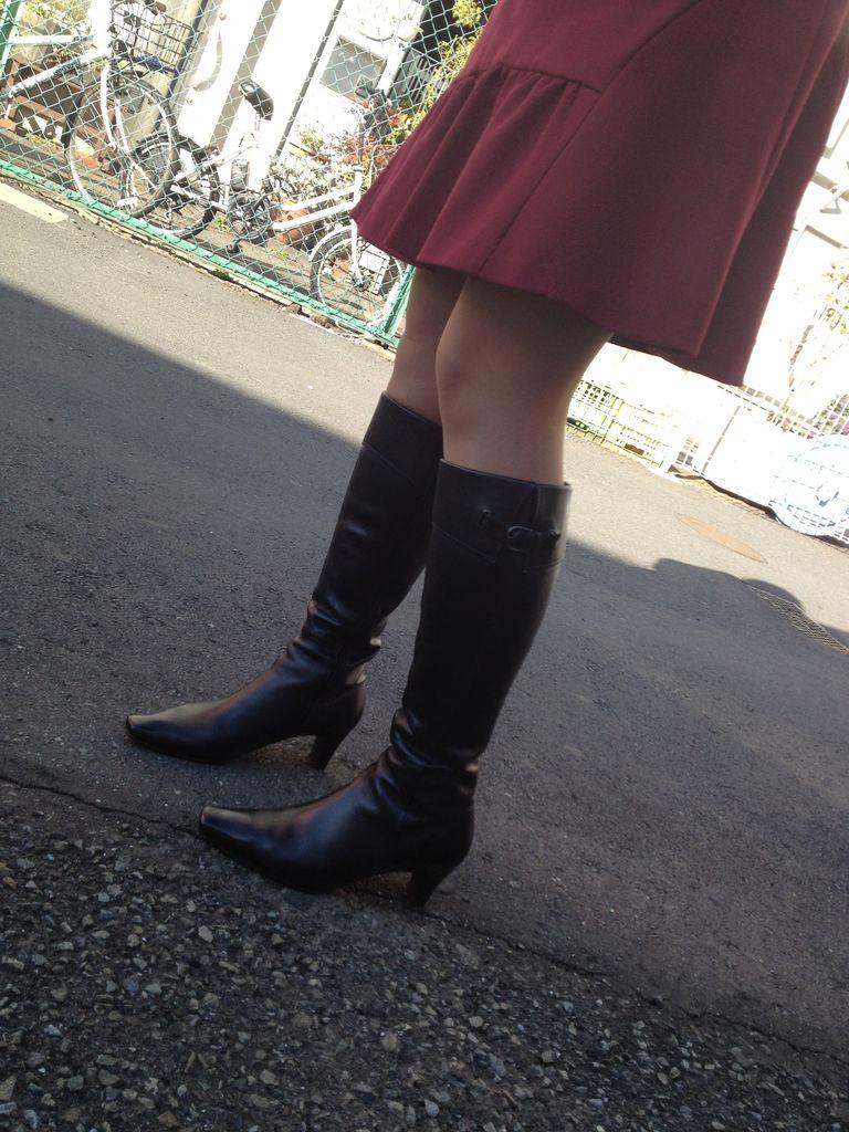 フェチ日和2012年11月ブーツが嬉しい季節です汗ばんでしまいました^_^;出勤予定ですご挨拶