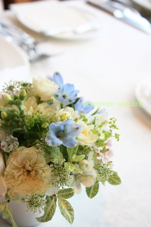 3月の会場装花〜野の花のように