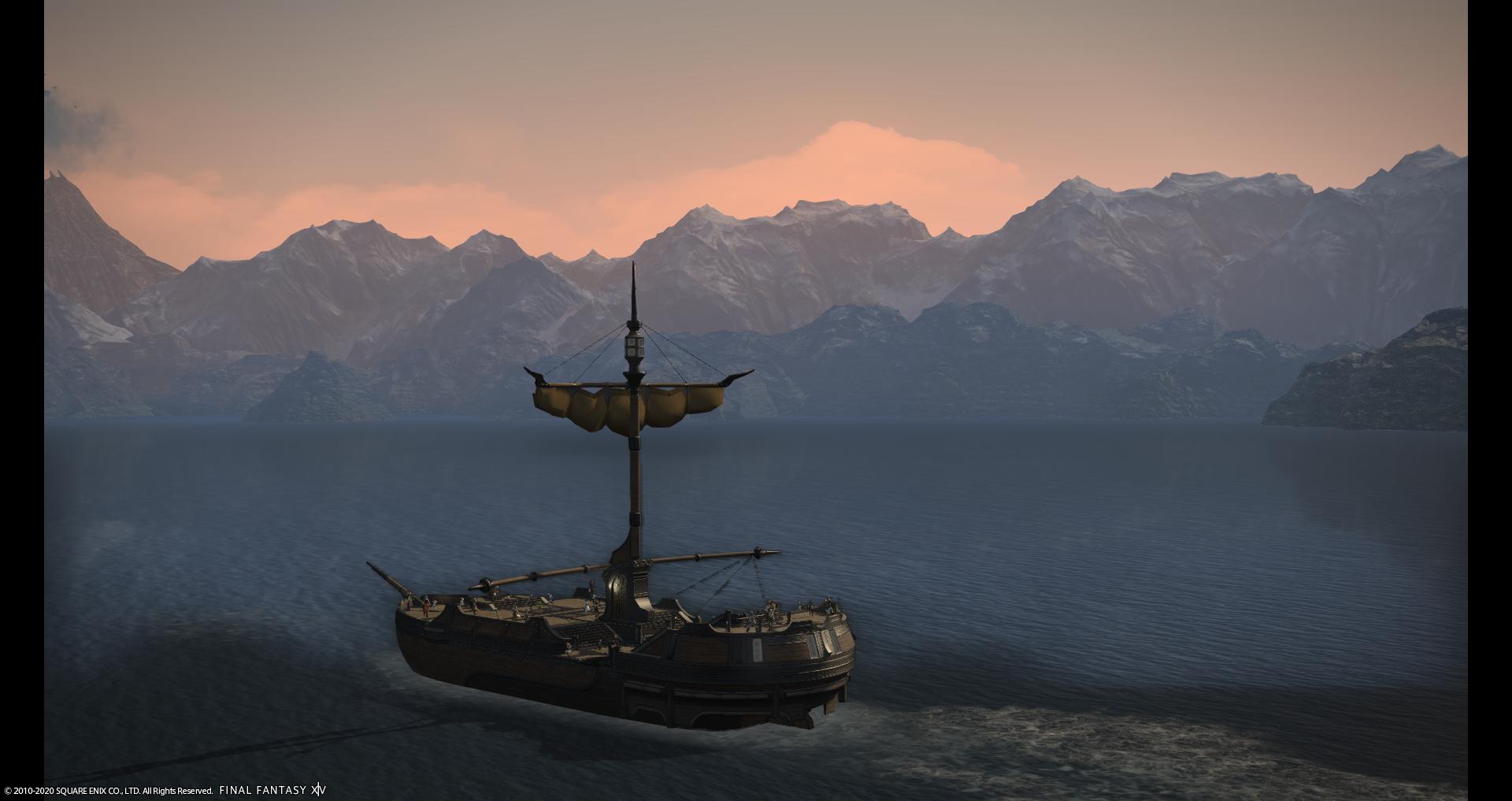 航路 潜水艦 ff14