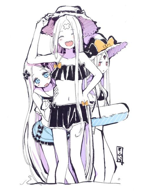 【FGO】アビーちゃんの水着欲張りセット!! どのアビーも可愛いなぁ