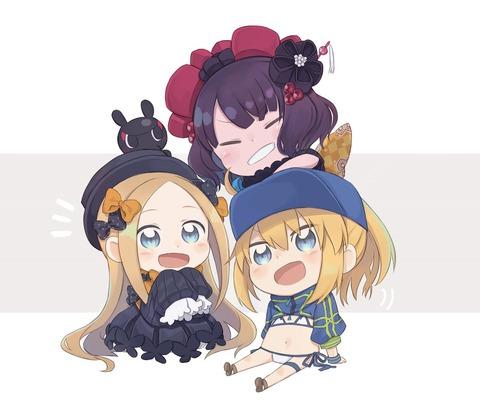 【FGO】仲良しちびフォーリナーズ!! 全員可愛いw