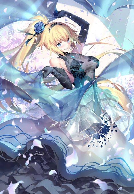 【FGO】光崎さんのドレスジャンヌが美しすぎる////// ポニテお姉ちゃんたまらん!